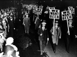 We Want Beer Protest